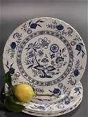 Blue Nordic Johnson Brothers Dinner Plates English