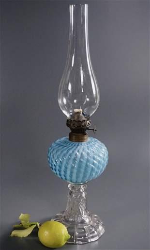 Victorian English Oil Lamp