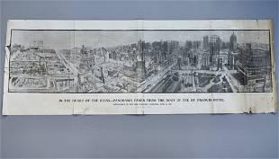 1906 San Francisco Earthquake Large Panoramic Print