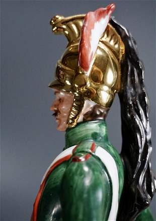 Capodimonte Porcelain Soldier Figurine Napoleonic Wars