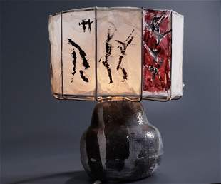 Unique Mid Century Designer Signed Pottery Hand Made