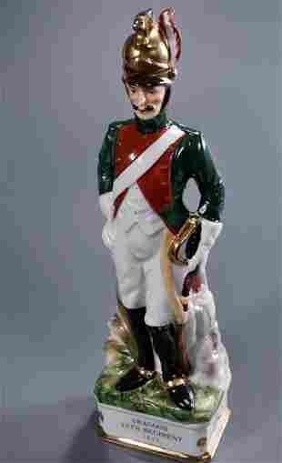 Dragoon Napoleonic War 1812 Soldier Uniform Figural