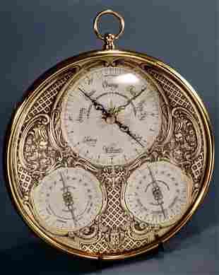 Longines Wittnauer Barometer Weather Key Instrument