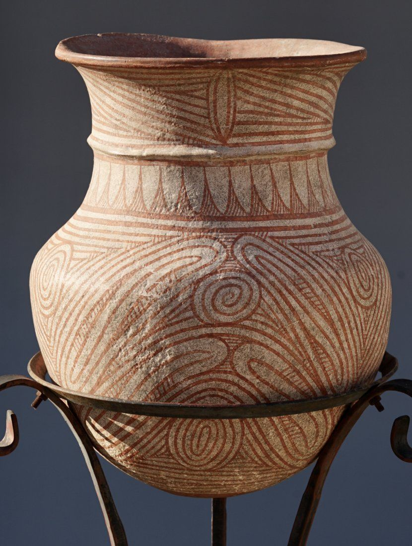 Mysterious Majiayao Pottery Painted Terracotta Pot