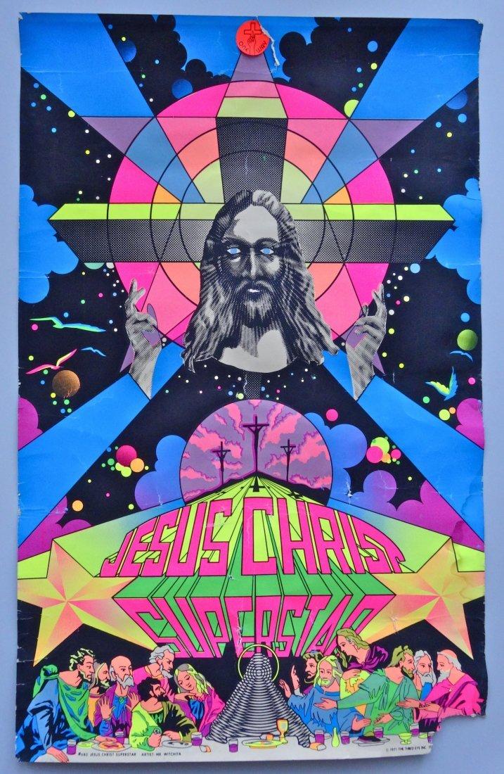 Vintage Jesus Christ Superstar Poster Artist Mr.