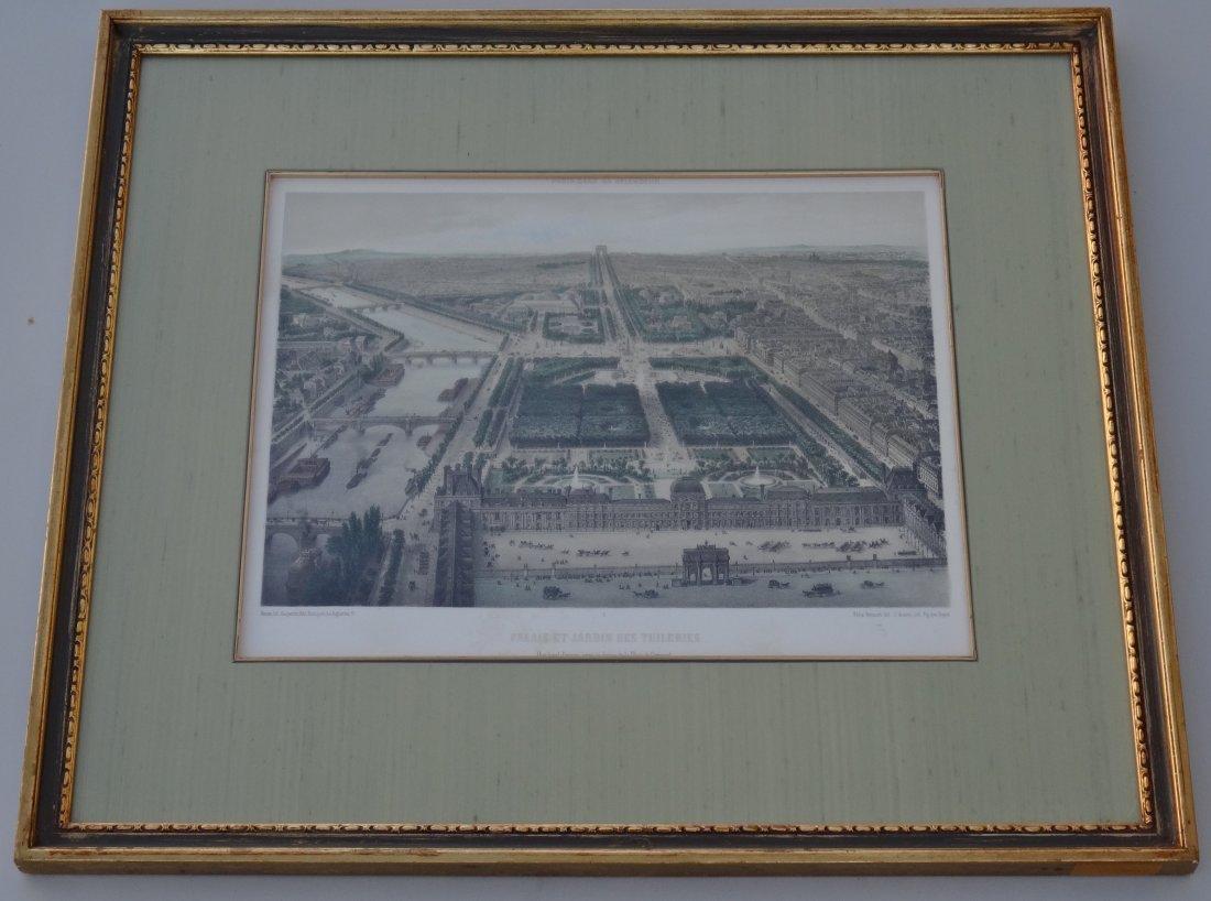 Antique 19th century Tuileries Palace Garden Hand