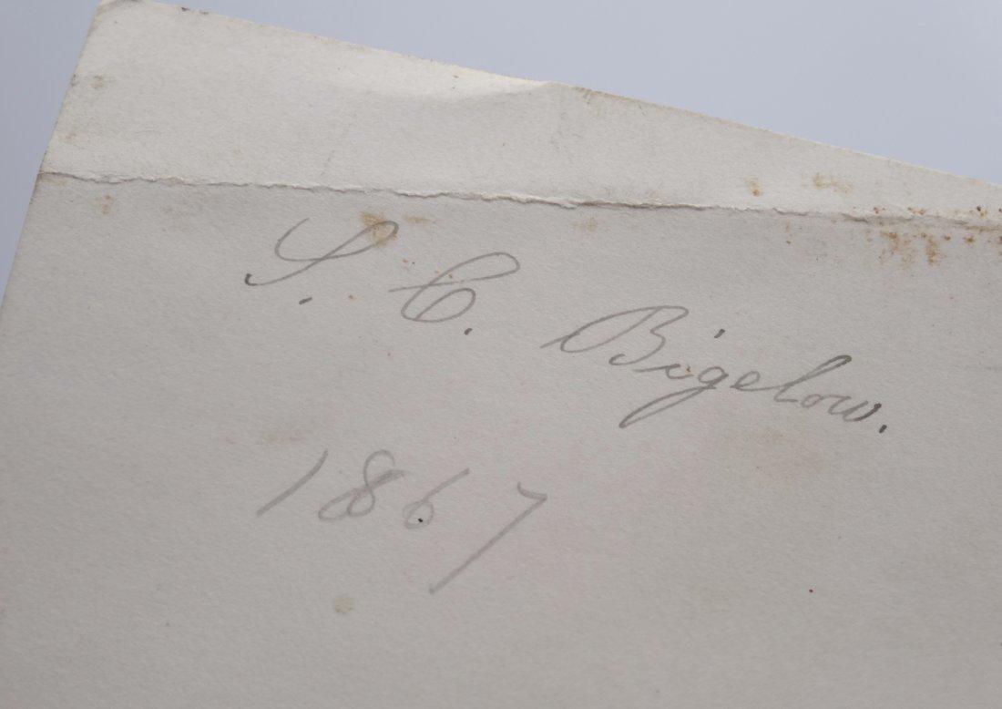 Antique Russian 1867 Original Signed Photo Monument Suv - 3