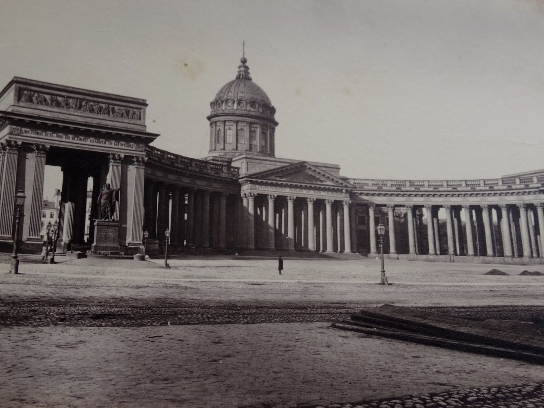 19th Century St. Petersburg Our Lady of Kazan Cathedral - 2