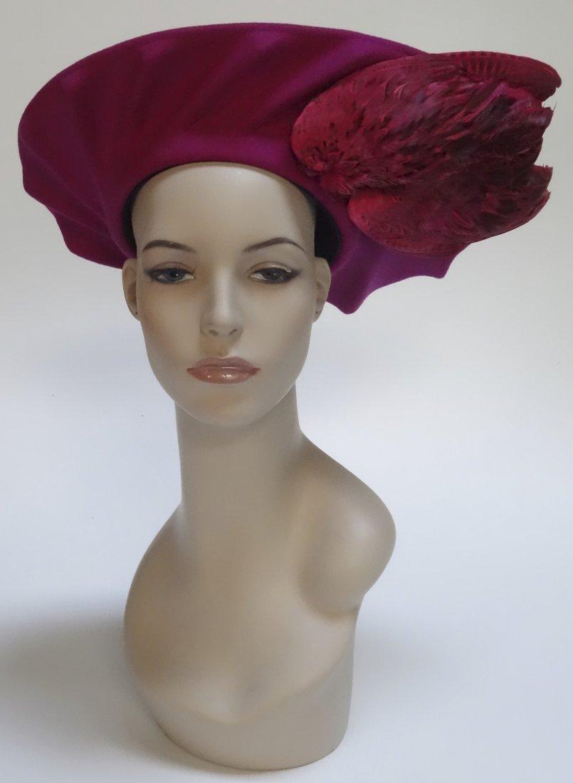 Vintage Bird Wing Ladies Hat