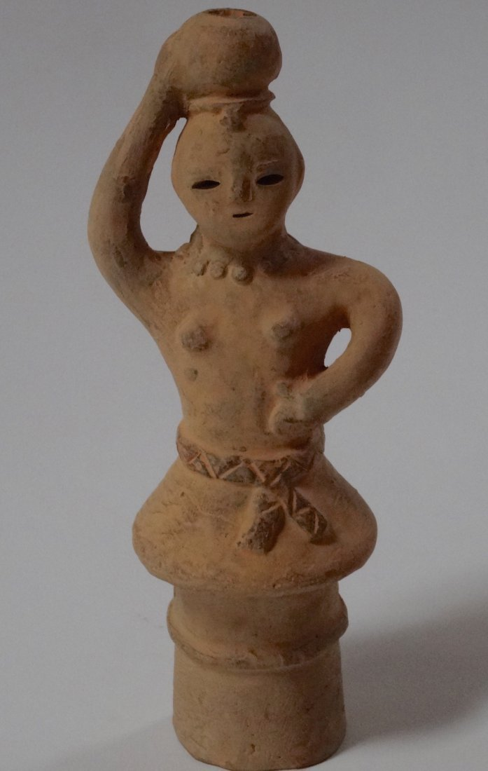 Japanese Haniwa Vintage Terracotta Clay Figure Oriental