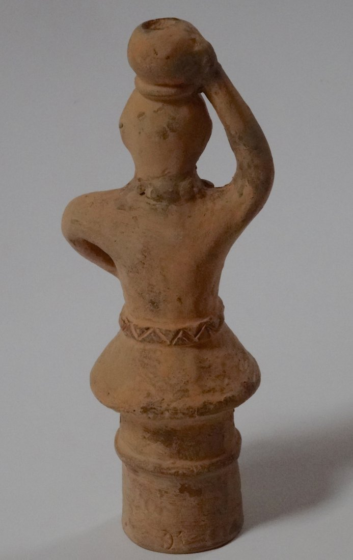 Japanese Haniwa Vintage Terracotta Clay Figure Oriental - 2