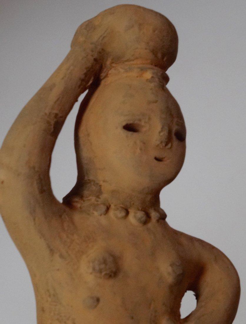 Japanese Haniwa Vintage Terracotta Clay Figure Oriental - 4