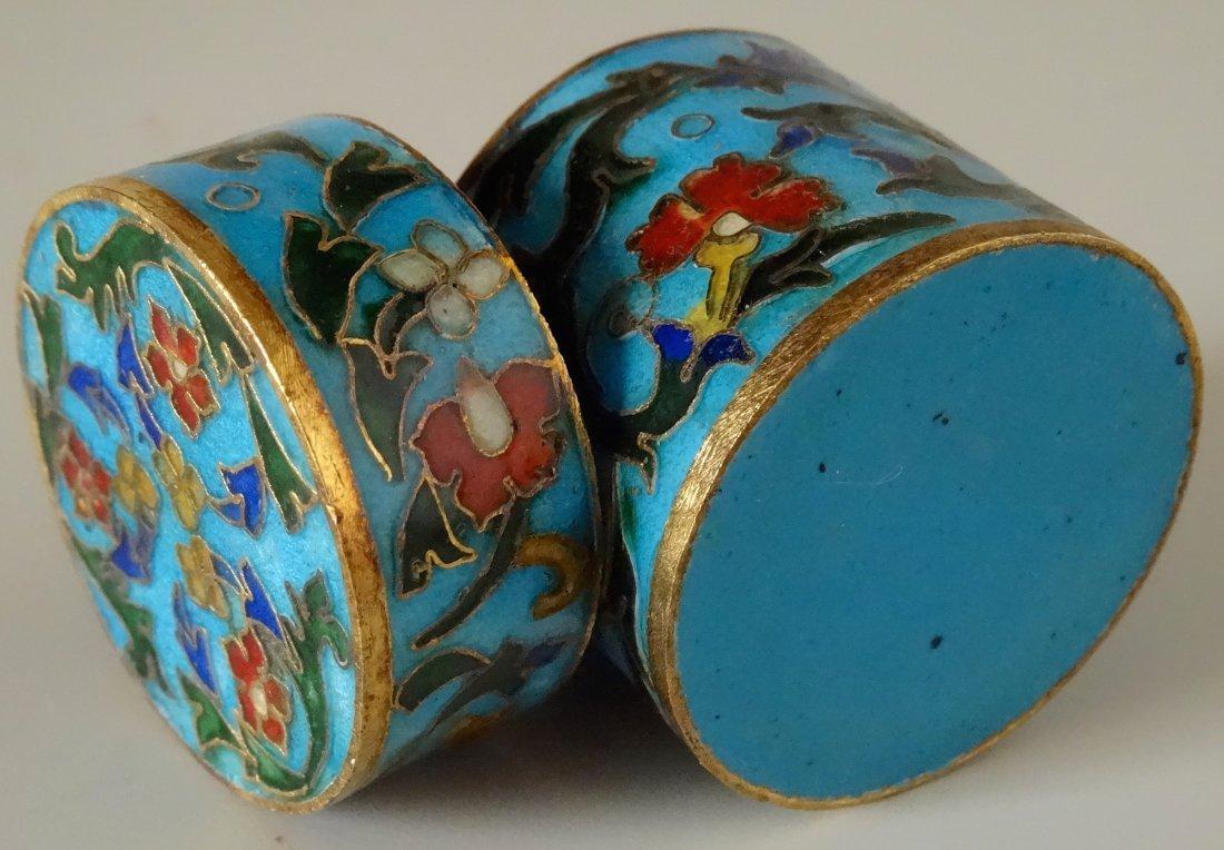Cylinder Cloisonne Box - 4