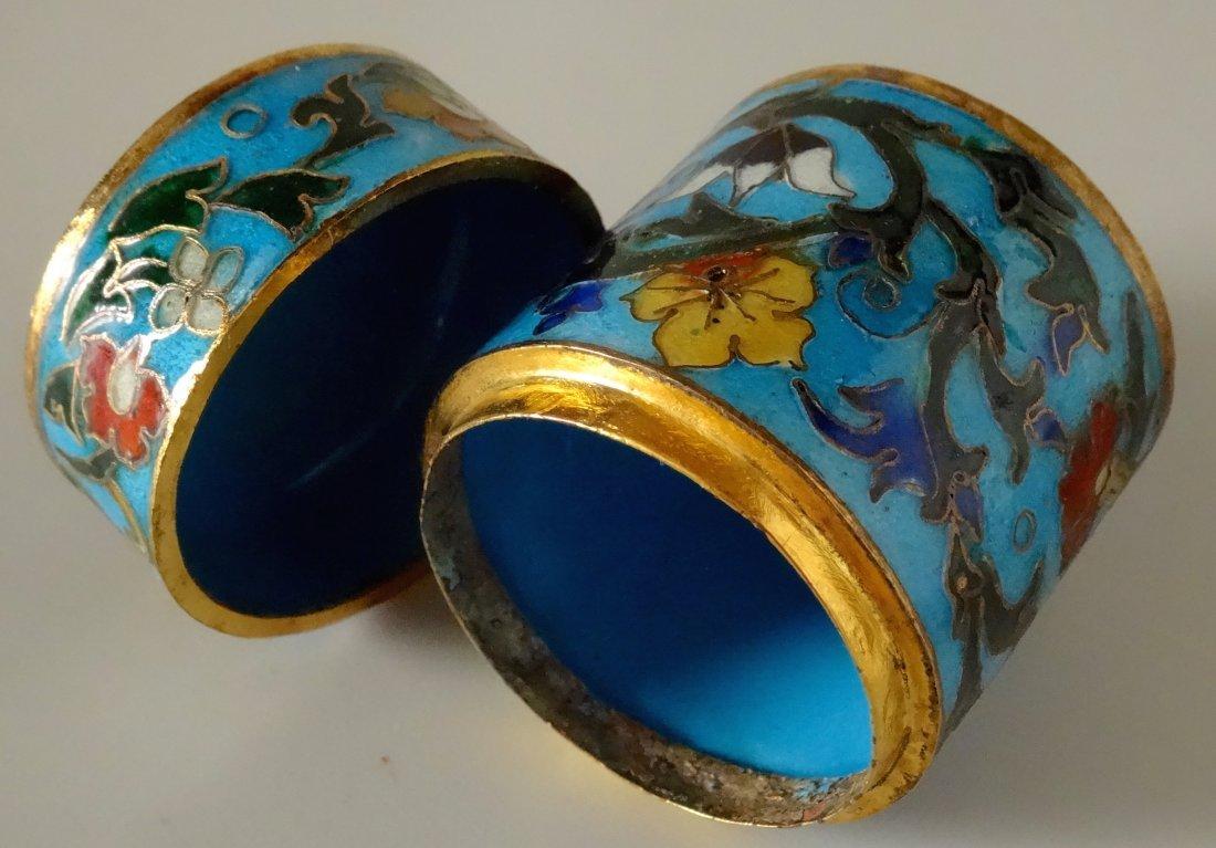 Cylinder Cloisonne Box - 5