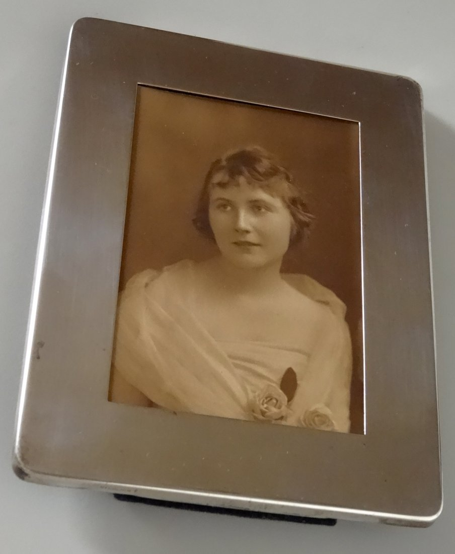 Art Deco Sterling Silver Vintage Photo Picture Frame - 6