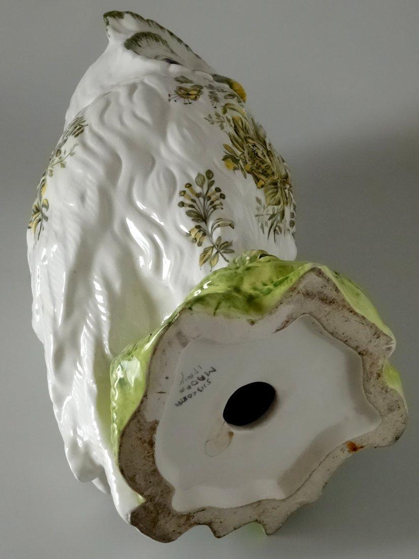 Vintage Mid Century Large Italian Ceramic Owl Hand - 7