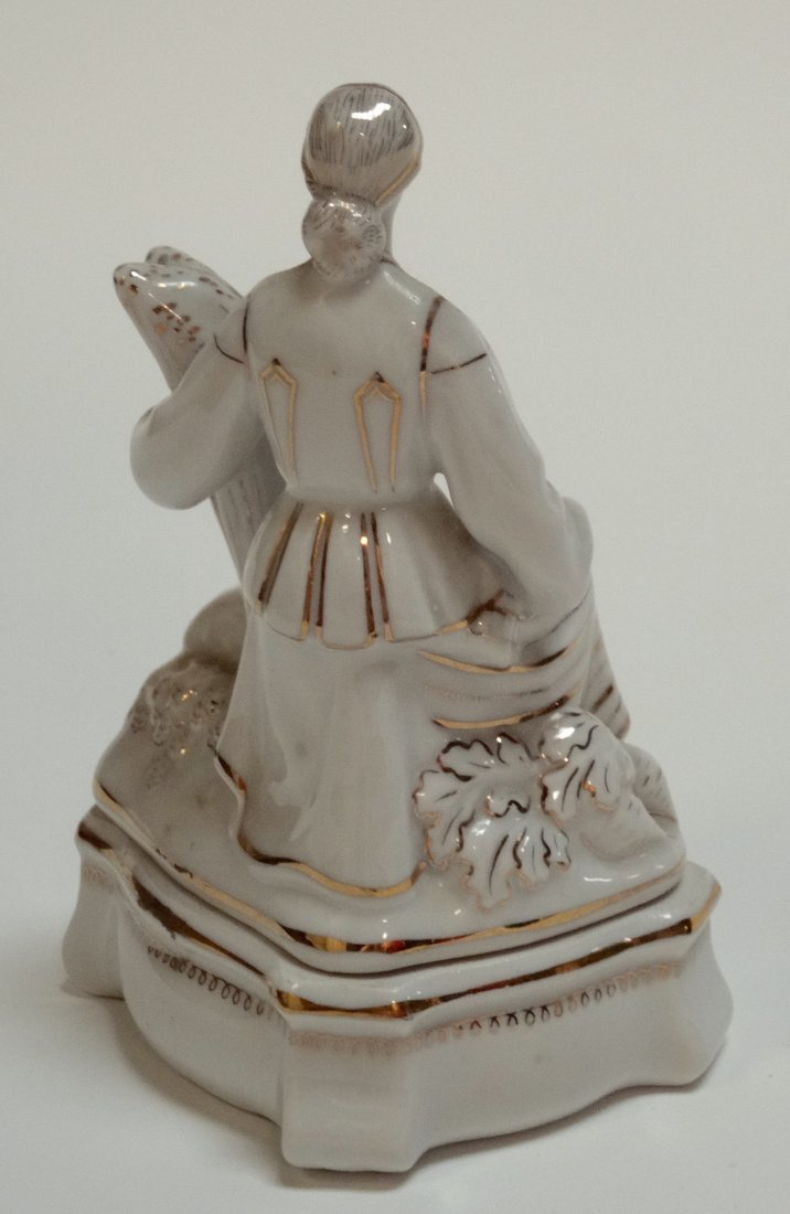 USSR Rare Belarus Soviet Propaganda Porcelain Figurine - 5