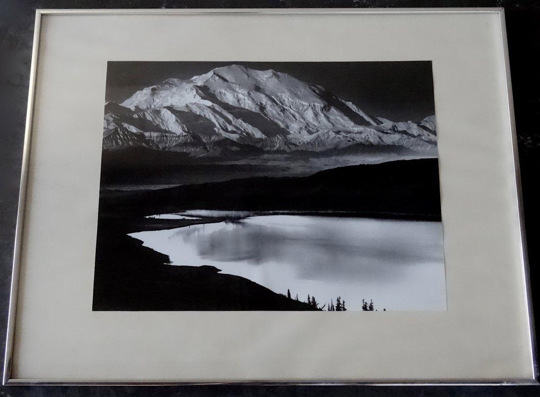 AnselAdams Mount McKinley and Wonder Lake Denali