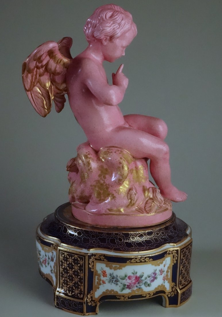 Falconet Cupid L'amour Menaant Sevres Porcelain Rare