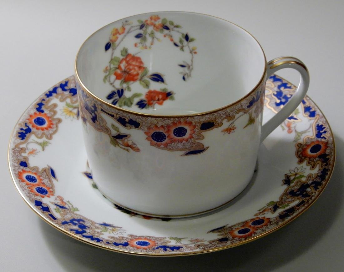 French Limoges B & Co Bernardaud Karaikal Flat Cup and