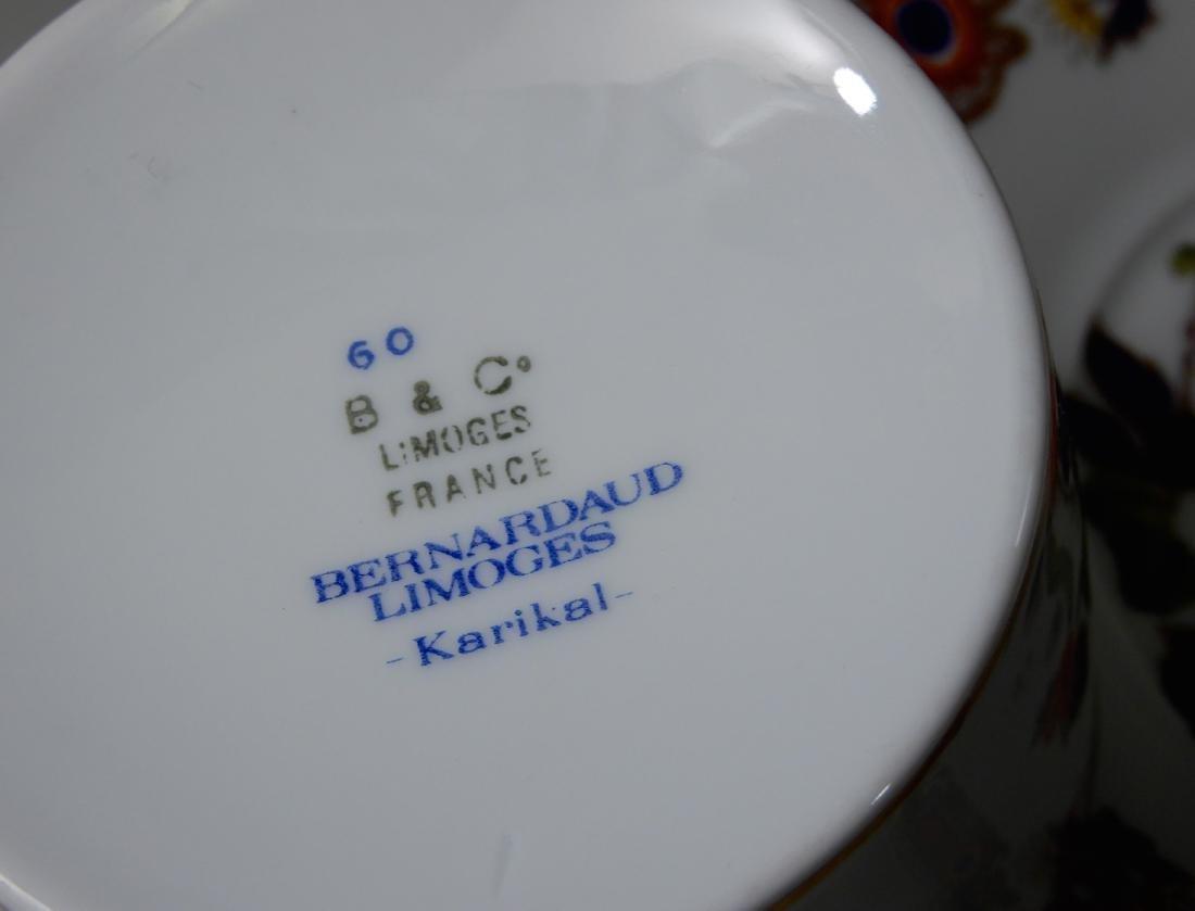 French Limoges B & Co Bernardaud Karaikal Flat Cup and - 4