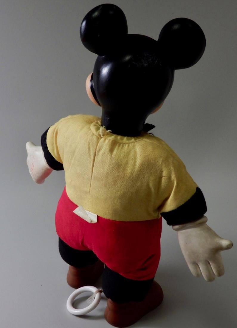 Vintage Mechanical Talking Mickey Mouse Pull String - 2