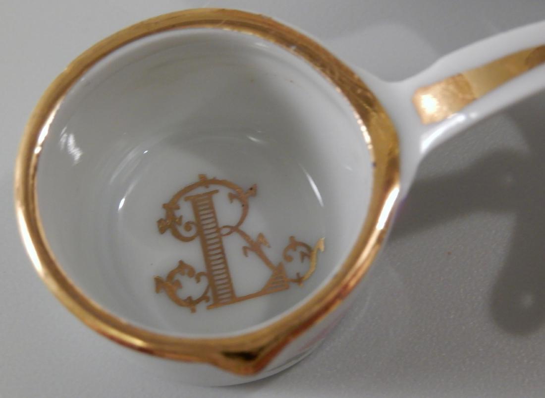 Vintage Limoges Porcelain Lasserre Paris Restaurant - 3