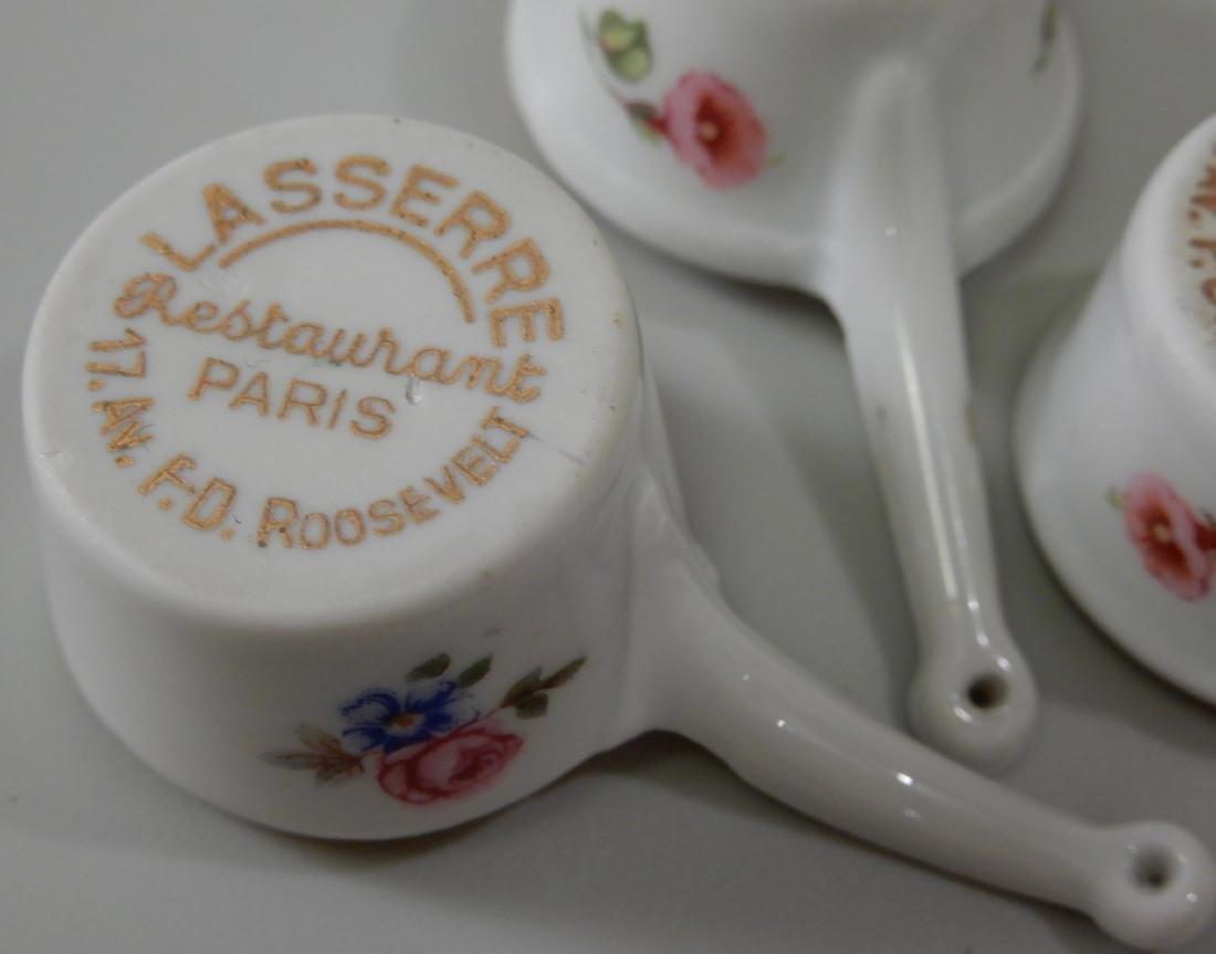 Vintage Limoges Porcelain Lasserre Paris Restaurant - 5