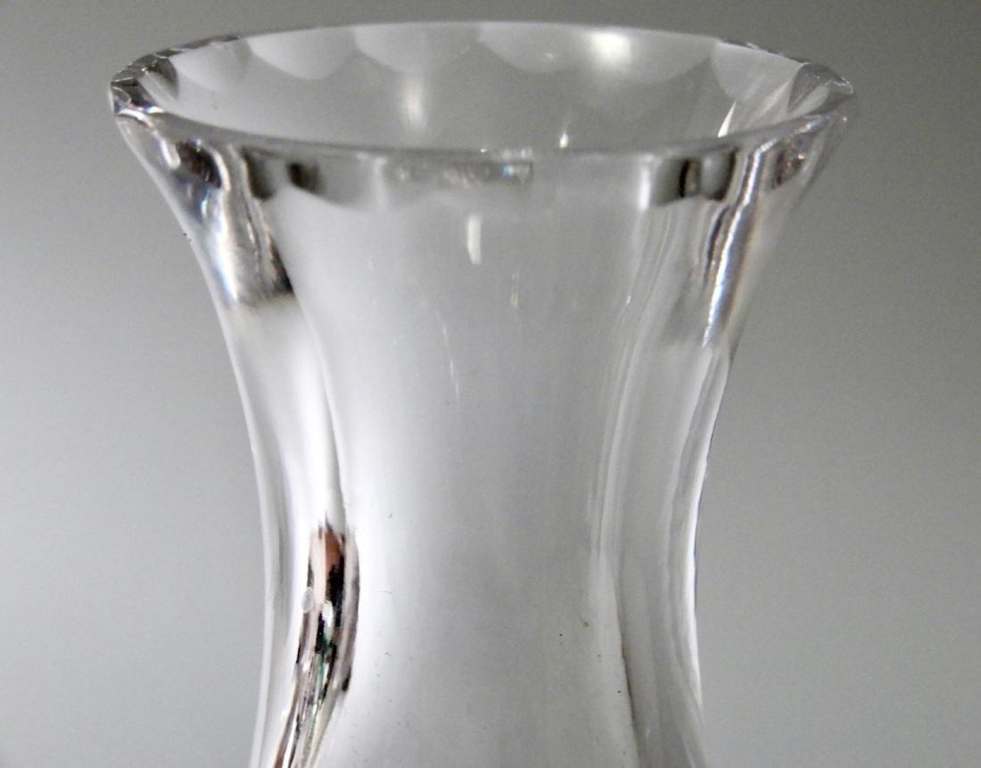 Vintage English Royal Doulton Cut Crystal Soliflore - 2