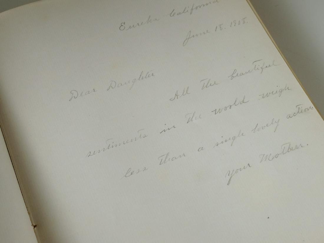 Victorian Red Velvet Album Empty Pages - 6