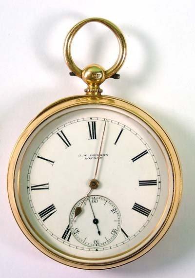 1: Gent's pocket watch