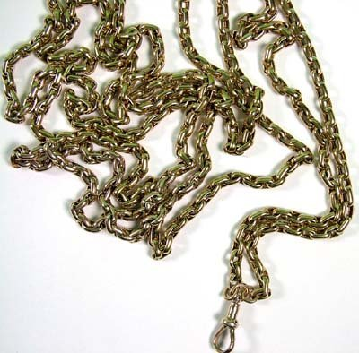 14: Antique guard chain