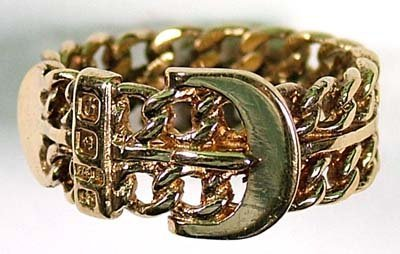 16: Gent's buckle ring