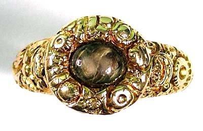 23: Antique memorial ring