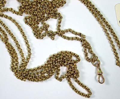 24: Antique guard chain