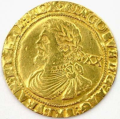 496: James I gold laurel