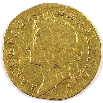 497: James II half guinea, 1688