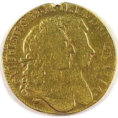 498: William and Mary guinea, 1692