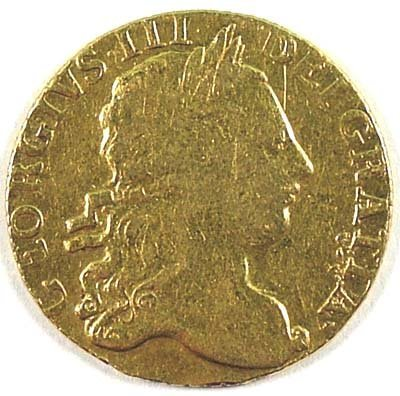 502: George III guinea, 1770