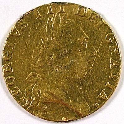 507: George III guinea, 1788