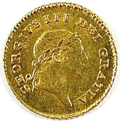 512: George III third guinea, 1810