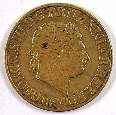 513: George III sovereign, 1817