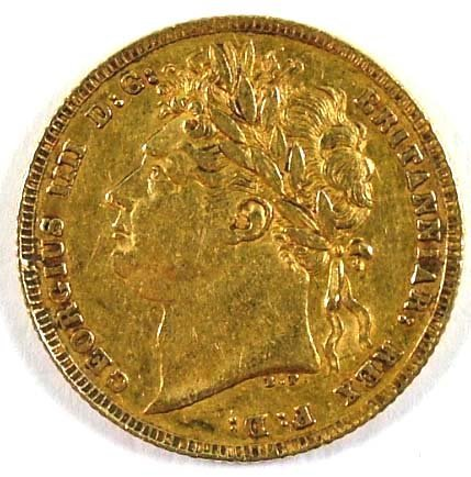 517: George IV sovereign, 1821