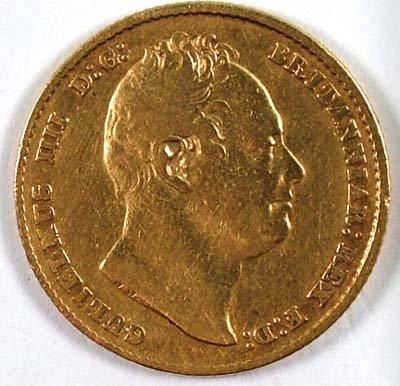 519: William IV sovereign, 1832