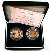679 Elizabeth II gold proof half sovereign set