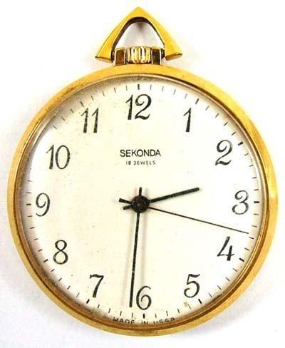 1: Sekonda pocket watch