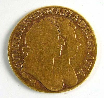 525: William and Mary guinea, 1689