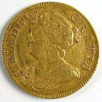 526: Anne guinea, 1714