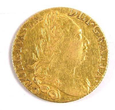 531: George III guinea, 1775