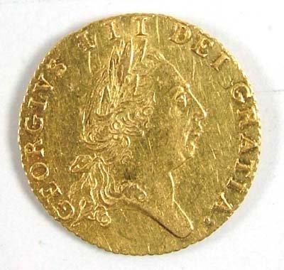 533: George III half guinea, 1790
